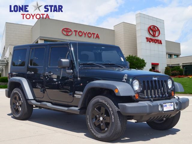 Pre Owned 2012 Jeep Wrangler Unlimited Sport