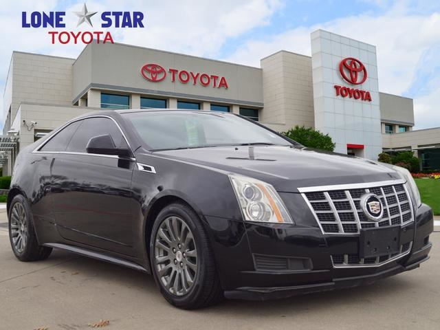 Pre Owned 2012 Cadillac Cts Base 2d Coupe In Lewisville C0141199