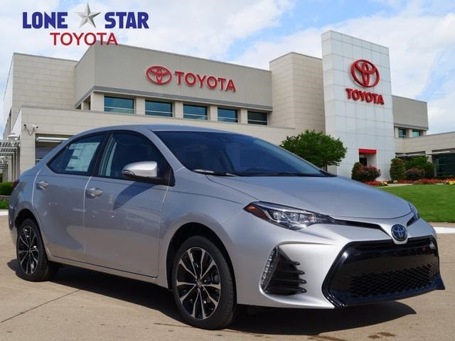New 2019 Toyota Corolla Se Cvt Sedan In Lewisville Kc181802 Lone