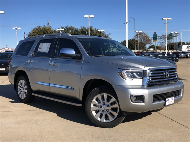 New 2020 Toyota Sequoia Platinum