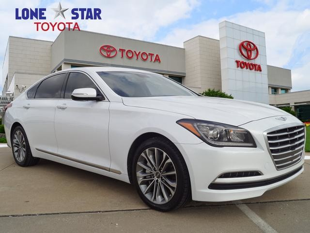 Rear Wheel Drive Sedan Pre Owned 2016 Hyundai Genesis 3 8l