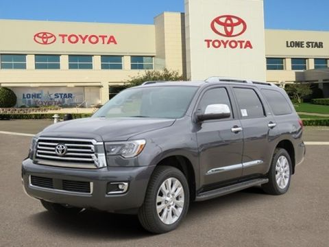 New 2018 Toyota SEQUOIA 4X2 Platinum